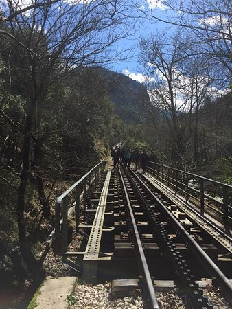 Vouraikos Canyon - Cog Railway: photo7.jpg