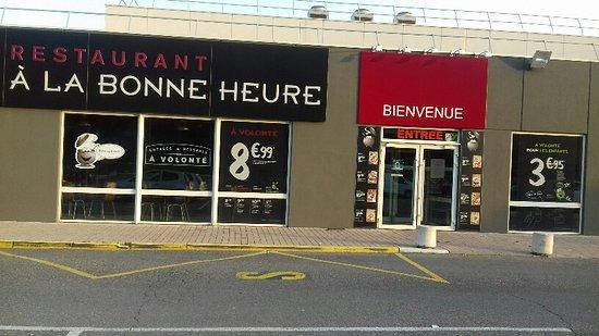 Digne les Bains, France: RESTAURANT SITUE AU FOND DU CENTRE COMMERCIAL CARRFOUR