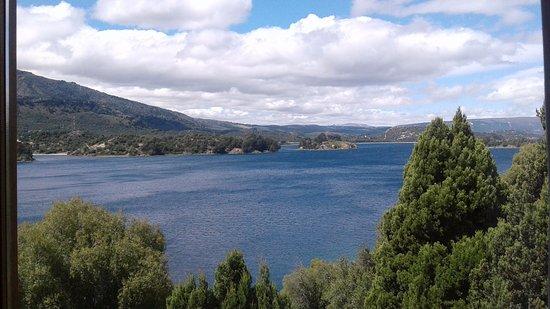 Hosteria La Balconada: Vista desde la ventana del hotel