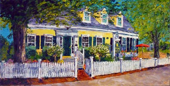 "The Inn at Cook Street: Ann Gorbett "" Inn at Cook Street"" Palette Knife Artist"