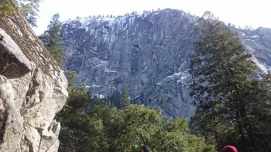 Mist trail view