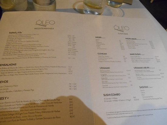 Oleo Restaurante: oleo