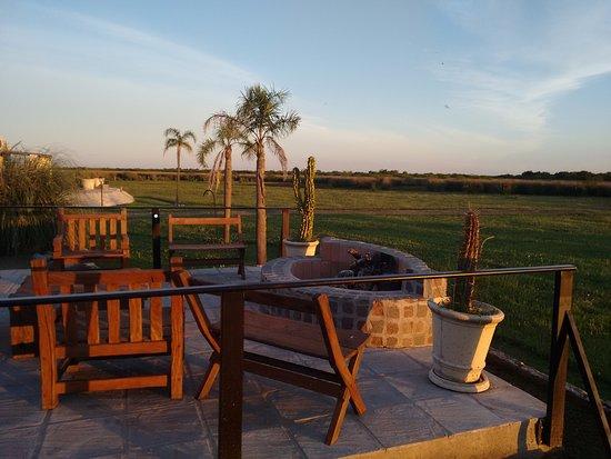 """Ceibas, Argentinien: Una hermosa """"terraza"""" para compartir un fogón, una noche estrellada, o un atardecer"""