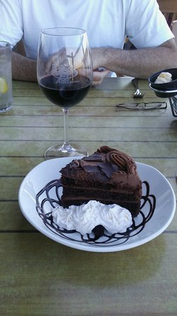 Wormleysburg, PA: Rock Bass's desserts are enough for two! :)