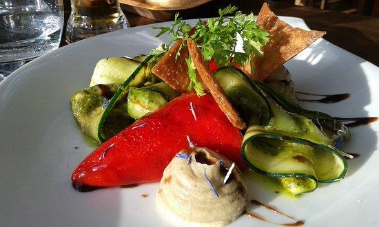 Vendays Montalivet, Frankrijk: Piquillos ....hummm