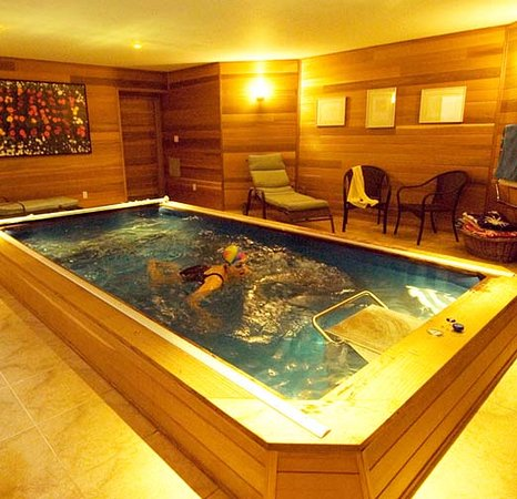 Indoor Endless Pool - Picture of East Hampton Art House Bed and ...