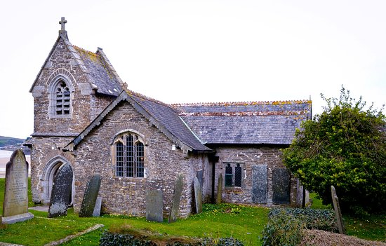Rock, UK : St. Michael's Church Porthilly