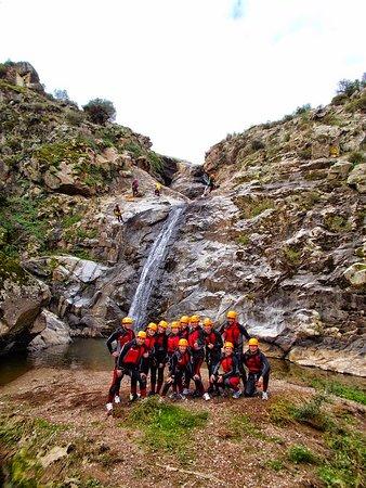 Andalucía, España: Barranco de Calzadilas en Almadén de la Plata