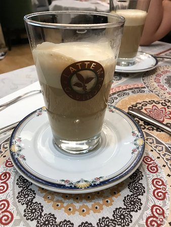 Hotel Italia: Cafe latte