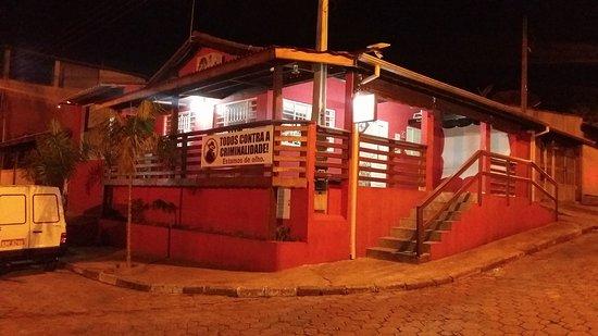 Jacareí, SP: Fachada do Bar do Nei