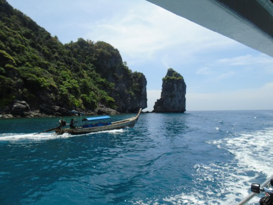 Railay Dive Center: Paysage