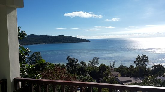 Anse Boileau, Ilhas Seychelles: View from the balcony in the afternoon!