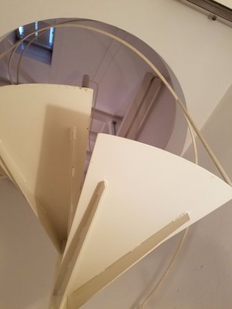 Pension Aller : the final stairs to attic. :-)