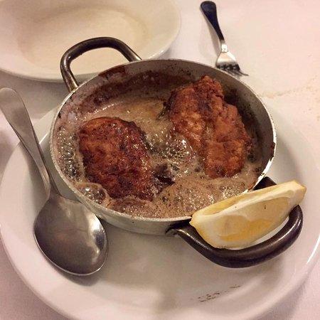 Trattoria Sostanza: The phenomenal butter chicken!