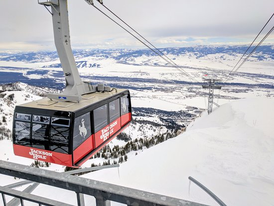 Jackson Hole Mountain Resort : Jackson Hole from the Top