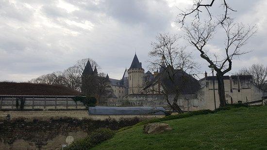 Château de Saumur : vue du chateau