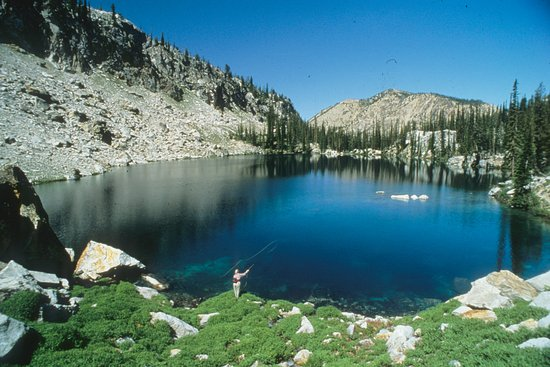 Garden Valley, ID: Let us pack all your gear in to high lakes that normally don't get pressure from the public