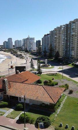 Tanger Hotel: Vista desde la terraza