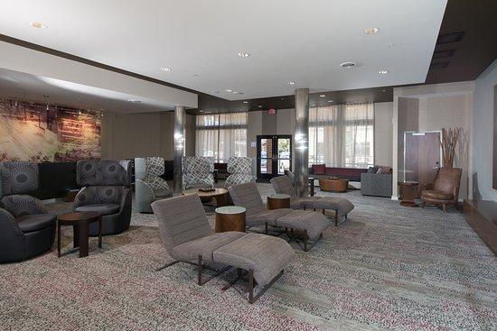 Bay City, ميتشجان: Lounge Lobby