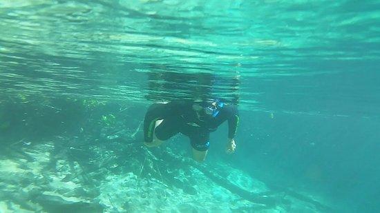 Recanto Ecológico Rio da Prata: Flutuação