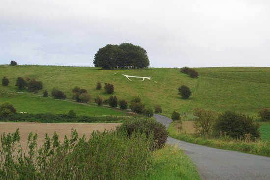 The Hackpen or Broad Hinton or Winterbourne Bassett white horse