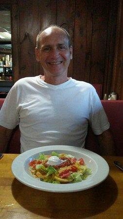 Sayre, Pensilvanya: My Honey really liked his special Mexican dish!