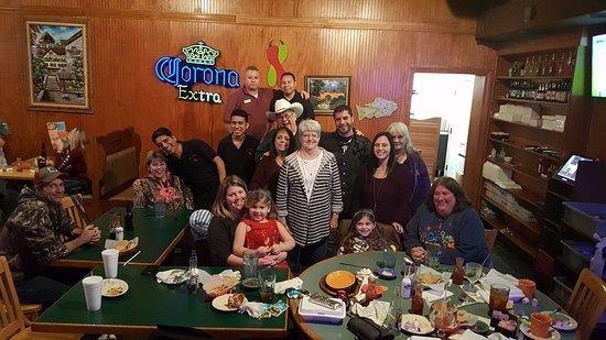 El Corral Mexican Restaurant Family Dinner At Resaurant Creedmoor NC