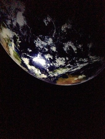 Roper Mountain Science Center: View inside the planetarium
