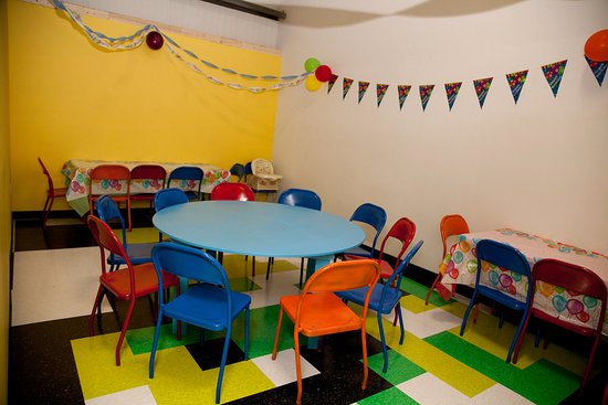 Charlottetown, Canadá: Birthday Party Room