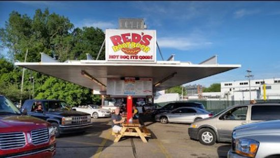 Red's Root Beer Drive-In Paw Paw, MI