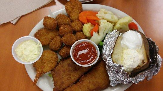 Calimesa, CA: Seafood platter