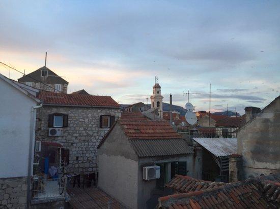 Villa Varos: View From Balcony/Patio