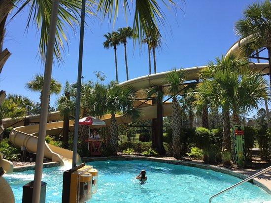 Marriott world center resort pool cabana 7 for laser for Pool show orlando