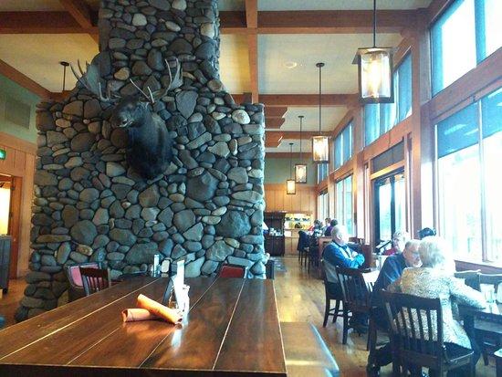 Stevenson, WA: Restaurant interior