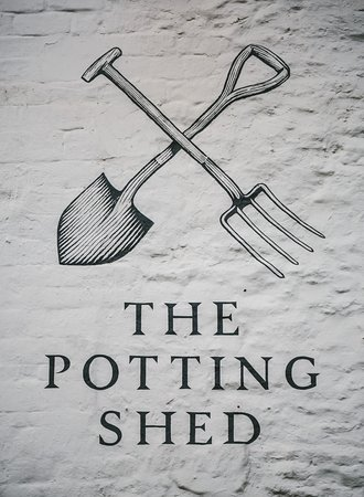 Crudwell, UK: Potting Shed Logo