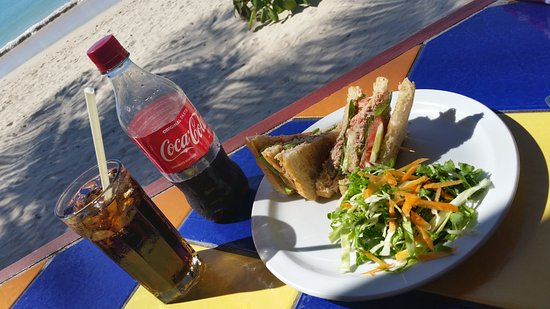 Morne Rouge: You can't beat the view, and the tuna sandwich was the best I've ever eaten! <3