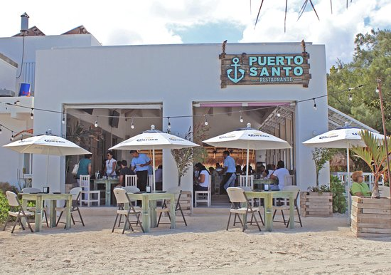 Puerto Juarez, Mexico: Vista desde la playa
