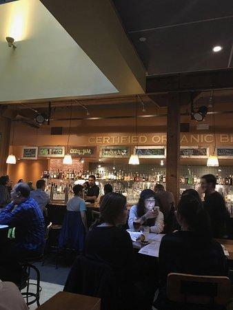 Thirsty Bear Brewing Company Inside