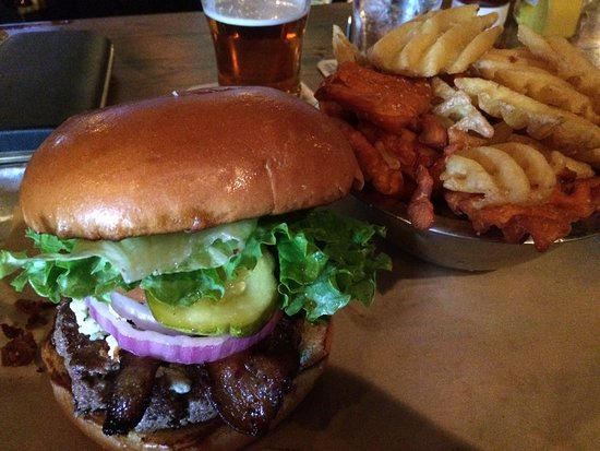 Photo of American Restaurant Goodfriend Beer Garden and Burger House at 1154 Peavy Rd, Dallas, TX 75218, United States