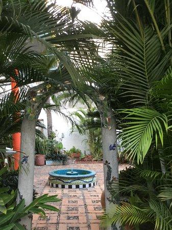 Hacienda Mosaico: Entrance to art studio