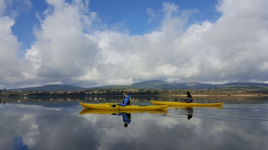 Killaloe, Irlanda: Crystal clear waters of Lough derg