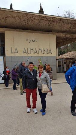 Armilla, Spain: Visita a la Alambra
