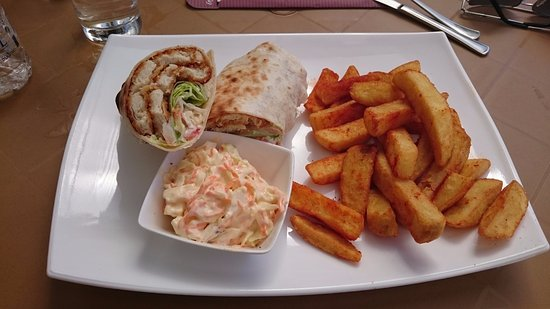 My lunch at Reflections Sports Pub & Grill