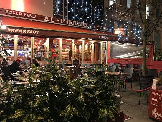 Al Forno - Shepherd's Bush Green: Al Forno  Italian Cafe Restaurant