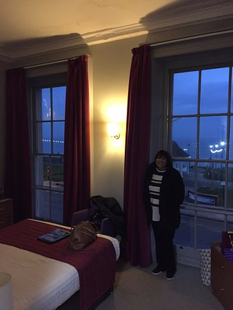 full length windows upvc bay royal whitby hotel room with sea view and full length windows picture of