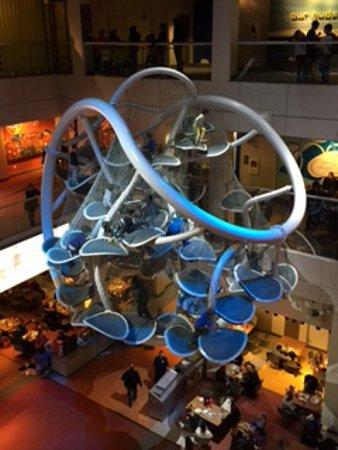 Liberty Science Center: climbing apparatus for kids