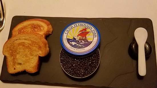 The Inn at Little Washington: Crab, Cucumber Jelly and Caviar with Toast Points