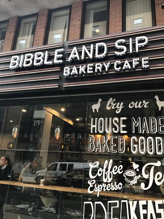 Photo of Cafe Bibble & Sip at 253 W 51st St, New York City, NY 10019, United States