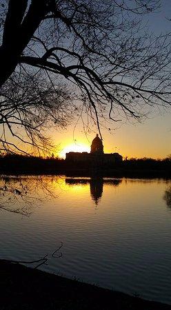 Wascana Centre Park: sunset