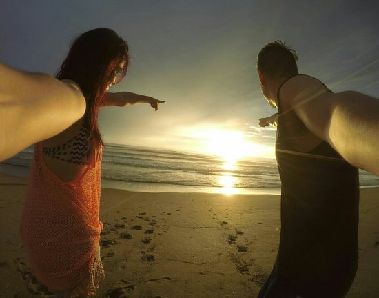 Puerto Cayo, Ecuador: Fin de semana de película